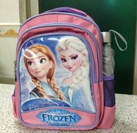 2014 New Frozen Kids Student  Schoolbag Child Boy Girl Cartoon Backpack Size 33*26*15CM