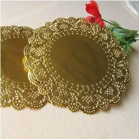 6.5'' hollow out round lace decor paper cake paper doily