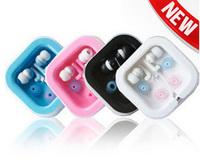Drop Shipping 20pcs/lot 3.5mm Mini In-ear Earphones Deadphones Deadsets For Mp3 MP4 MP5 PSP PC Color Pink/Black/White/Blue