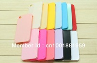 10 pieces , Colorful Plain Hard Back Case Cover for apple iPhone 4 4S - DIY Decoration , free shipping