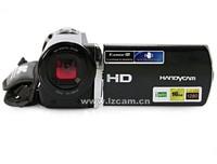2012 New ,16xdigital zoom,  3.0 inch LTPS LCD screen,FULL-HD 1080P 12MP hd digital video camera HDV-666 ,Free shipping