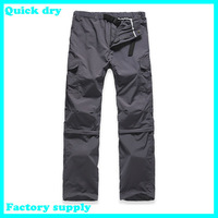 wholesalefactory supply fashion Outdoor UV Resistant Fast Drying Speed men's Quick Dry Pants fishing Active Pants soprt trousers