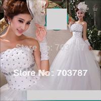 2014 New style Wedding dresses Formal dress vintage princess wedding dress Free shipping