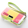 New Hybrid Leather Wallet Flip Pouch Stand Case Cover For iphone 5 5G 5th + Protector Film(China (Mainland))