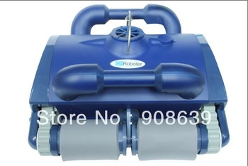 Intelligent vacuum pool cleaner, safely, auto work, clean up bottom&wall, filter water, remote control, Working Area:100m2-200m2