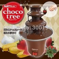 Household mini chocolate, fountain machine,chocolate fondue,self-restraint heat machine,Chocolate lava machine, Chocolate Tower