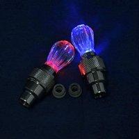10pairs/lot motion/moving-shake led light 3battery led bike Light bicycle motorbike wheel light