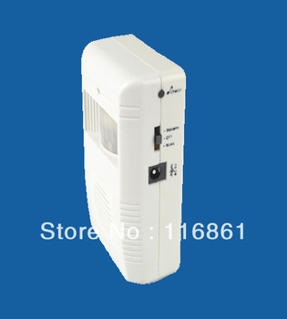 Compact Wireless Infrared Motion Detecting Door Chime with Voice Sound and Music Sounds