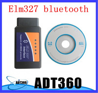 V2.1 ELM327 bluetooth ELM 327 Interface OBD2, Auto Car Diagnostic Scanner OBDII works On Android