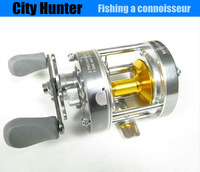 2014 Sale Bait Casting Casting Drum Type Reel New Arrivals Left Hand Use Metal Bait Casting 5+1 Bearing (kx50l) Free Shipping