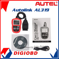 [Authorized Distributor]Auto diagnostic Code reader Autel AutoLink AL319 AUTO scan tool update on official website