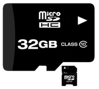 Brand NEW 32GB MICROSD CLASS 10 MICRO SD HC MICROSDHC TF FLASH MEMORY CARD REAL 32 GB WITH SD ADAPTER
