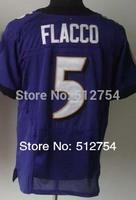 #5 Joe Flacco Jersey,Elite Football Jersey,Best quality,Authentic Jersey,Size M L XL XXL XXXL,Accept Mix Order