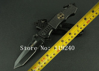 Cold Steel 229 Folding Blade Knife Pocket knife 3Cr13MoV Blade Steel Handle Fighting Folding Knife Survival Knife Free Shipping