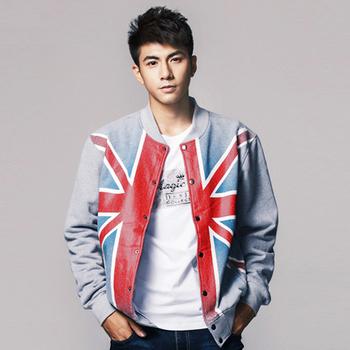 fashion 2013sweatshirt outerwear british flag sweater hoodies & sweatshirts jacket sweatshirt cardigan YD006