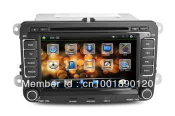 new+free shipping!VW passat/Golf/Jetta CAR DVD+digital screen+GPS+DVD+FM/AM+analog TV+BT+IPOD+AUX in+touchscreen