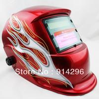 Red Tornado ANSI CE Solar Auto Darkening Welding Grinding Helmet   Free Shipping