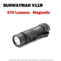SUNWAYMAN Hand-drawn Camouflage V11R MIRAGE SET Flashlight Super Exdusive Limited Cree U3 LED Max 500 Lumens