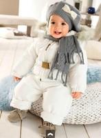 Thicken !   winter kids' boy girl children outwear jacket,baby cotton-padded jacket cotton coat
