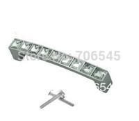 Free shipping 10pcs 96mm Crystal Glass  Cabinet Knob Pull Handle Drawer Cupboard Door Wardrobe