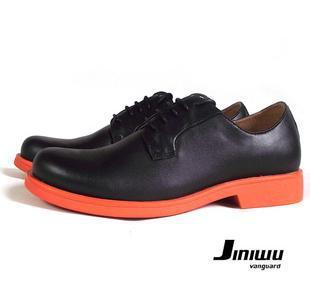 Size38-45 мужчины в цвет блок натуральная кожа кружево - вверх круглый платье обувь вилочная часть скейтбординг обувь bt361