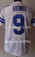 #9 Tony Romo Jersey,Elite Football Jersey,Best quality,Authentic Jersey,Size M L XL XXL XXXL,Accept Mix Order