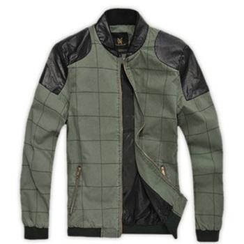 Men's jackets spring thin mens clothes 2013 men's coats and jackets cotton jacket man casual coat slim mens J001