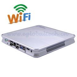 Mini Desktop Add 150M Wifi CPU Intel Atom D2550 Mini PC Windows 7 4G DDR3 RAM 500G HDD Internet Computer(China (Mainland))