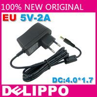 Original DELIPPPO EU 5 v 1.5 A / 1500 ma 2 A / 2000 ma DC4.0 MM FOR SONY psp1000 2000 3000 PSP go PSVita Game consoles charger