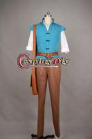 Hot sale Cheap custom-made Tangled Rapunzel Flynn Rider Prince Costume Uniform Adult Men's Halloween Costume