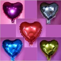 Free Shipping 18 Inch Heart Shape Foil Balloon For Wedding Birthday Party Decoration 50 PCS/LOT