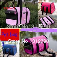 New2013 Retail&wholesale Pet items pet pet bag,folding bag,ventilated,3 size for 1kg/3.5kg/7kg with 4colors