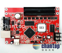 5E3 network & RS232 Port 1024K dots support Ethernet connection single&Dual color led display screen control card