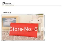 Free shipping 500pcs/lot 2013 New Small wWallet,Ladies Purse,Female Card Bag,Envelope Bag,Candy Color bag For Women