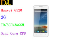 Original HUAWEI G520 Quad Core Signal sim Android 4.1 mtk6589 IPS 4.5inch Mobile Phone