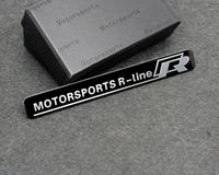 Motorsport R-line Emblem Badge Decal Truck Handle Door Sticker For VW VOLKSWAGEN Free Shipping High Quality Wholesale