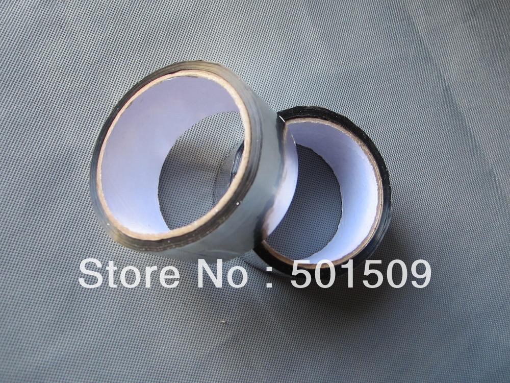 Slivery 40mm*40m Waterproof Aluminium Foil Tape High Temperature Tape Foil Tape solar panel adhesive tape(China (Mainland))