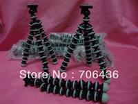 special  wholesale camera trumpet octopus tripod Variety tripod-octopus bracket black color 10pcs/lots