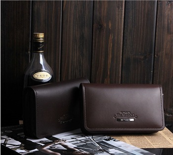 Free shipping Factory direct sale leather male handbags, man leather purse,Business work package