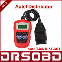 [AUTEL Distributor] Autel AutoLink AL301 OBD II & CAN Code Reader  Auto Link AL-301 Auto Diagnostic Scan Update Official Website