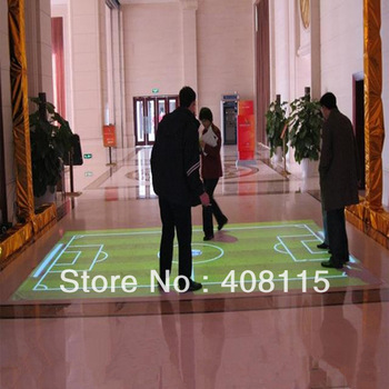 3D interactive projection display system, interactive floor system, dancing floor 200''