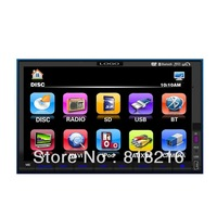 7'' 2din car dvd gps and dvd player with reversing camera universally 2 din