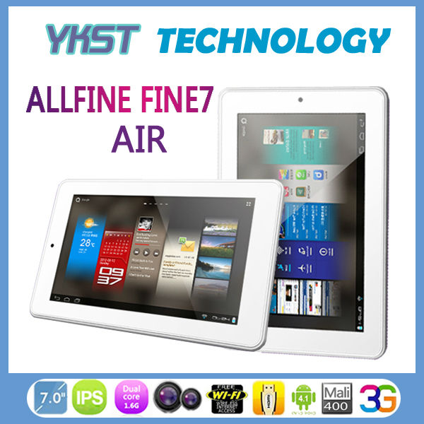 "7"" ALLFINE Tablet FINE7 Air You Best Choice Tablet pc good design and charming(China (Mainland))"