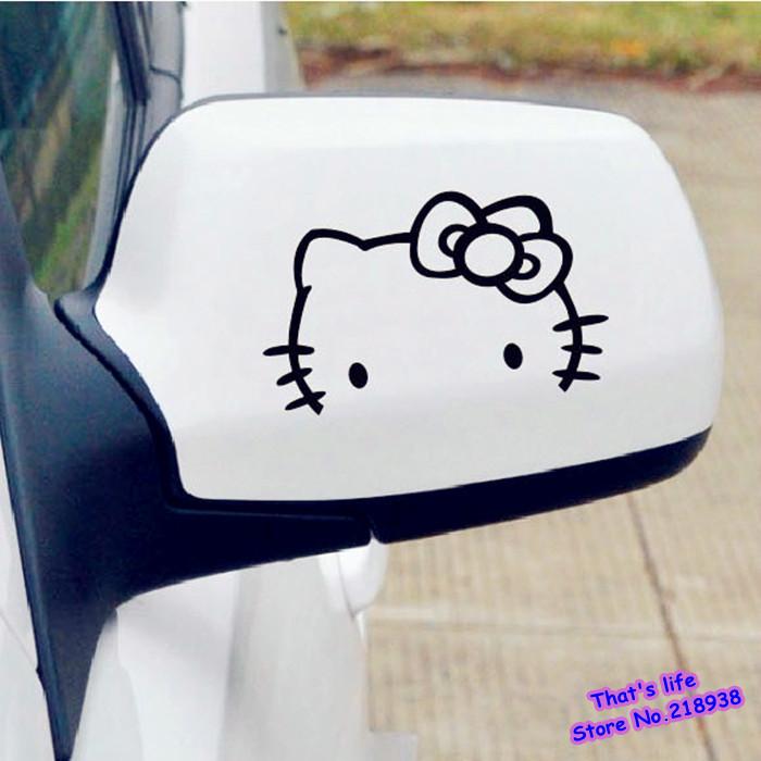 Lindo etiqueta engomada del coche reflexivo accesorios de decoraci?n