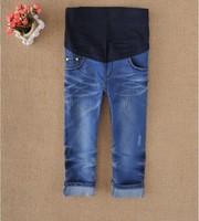 retail and wholesale fashion maternity pants Shorts trousers Elastic waistline jeans s m l xl xxl YC-010