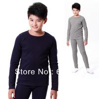 Child underwear set 100% cotton child children's teenage boy clothing sleepwear male child 100% cotton