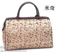 Travel bag large capacity luggage handbag travel bag travel bag waterproof male women's handbag bag MICKEY lilun