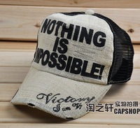 Large cap summer baseball cap mesh cap male summer sunbonnet female male2014 1 15