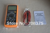 Hot sale New Digital Multimeter Xiole DT9205A Yellow Black Large  Digital meter  Free shipping