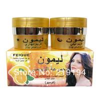 FEIQUE Spot Whitening Face Cream lemon removal freckle skin care 2 in 1
